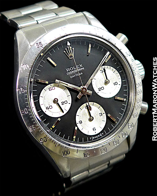 8d46dc731fd ROLEX 6239 DAYTONA UNPOLISHED STEEL 1967